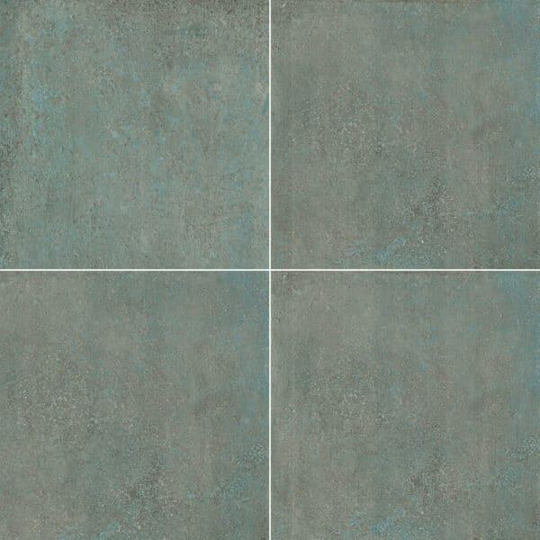 Metallook Tegels 60x60 - S50 Verderame Koper Groen Variatie
