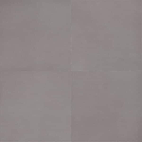 Effen Tegels 60x60 ELDE Grey Grijs Lapp Halfglans