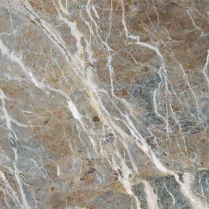 Marmerlook Tegels 120x120 i4 Carnico-B Bruin Grijs Hoogglans