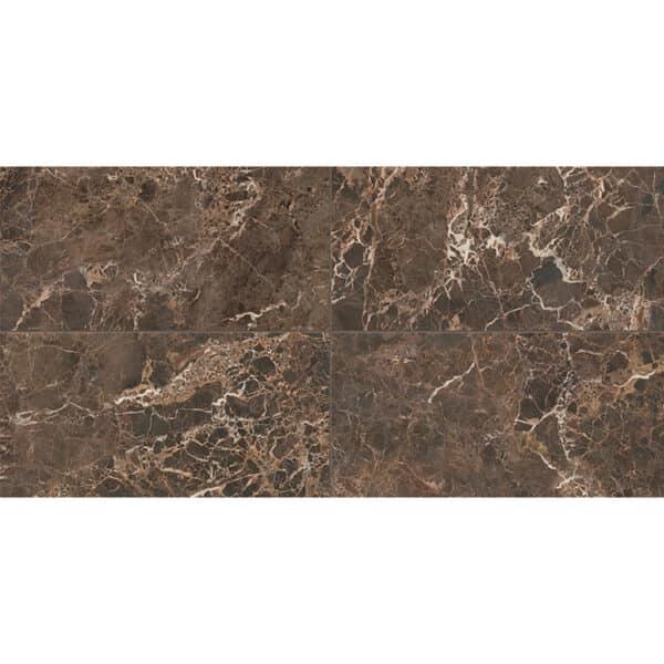 Marmerlook Tegels 60x120 ELLU Emperador Bruin Hoogglans