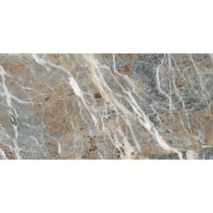 Marmerlook Tegels 60x120 i4 Carnico-B Bruin Grijs Hoogglans