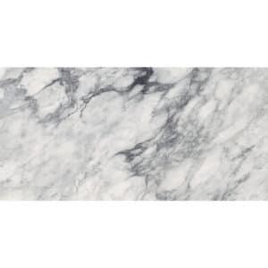 Marmerlook Tegels 60x120 i4 Renoir-I Wit Hoogglans Grijs