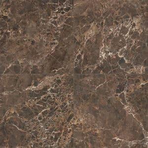 Marmerlook Tegels 60x60 ELLU Emperador Bruin Hoogglans