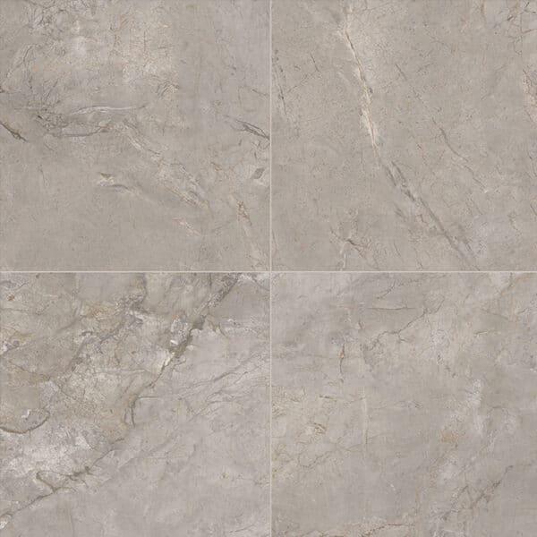 Marmerlook Tegels 60x60 ELLU Silver Grey Grijs Hoogglans