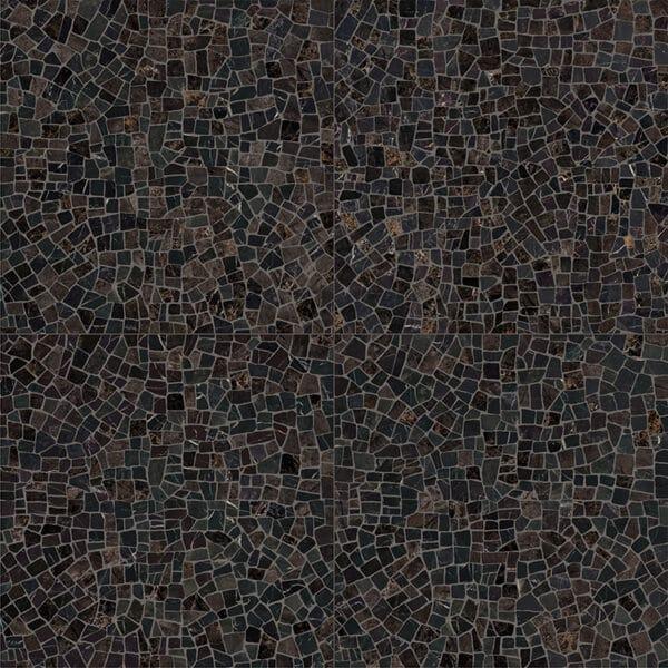 Marmerlook Tegels 60x60 i4 Palladiana Dark Mozaiek Hoogglans