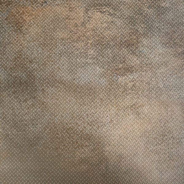Metallook Tegels - 100x100 TMP Scratch Rust Bruin Roest Decor