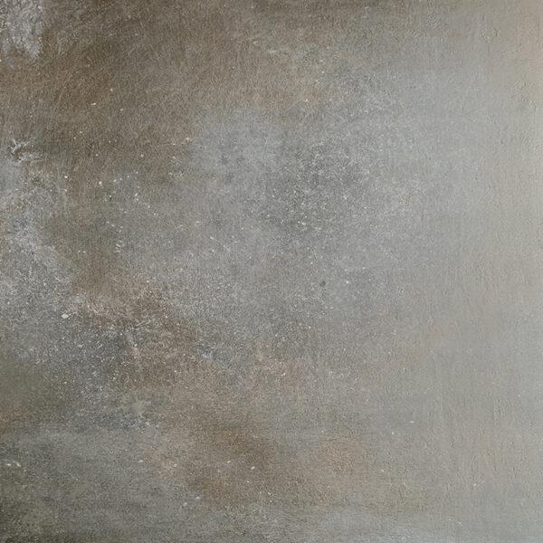 Metallook Tegels - 120x120 TMP Iron Grijs Bruin