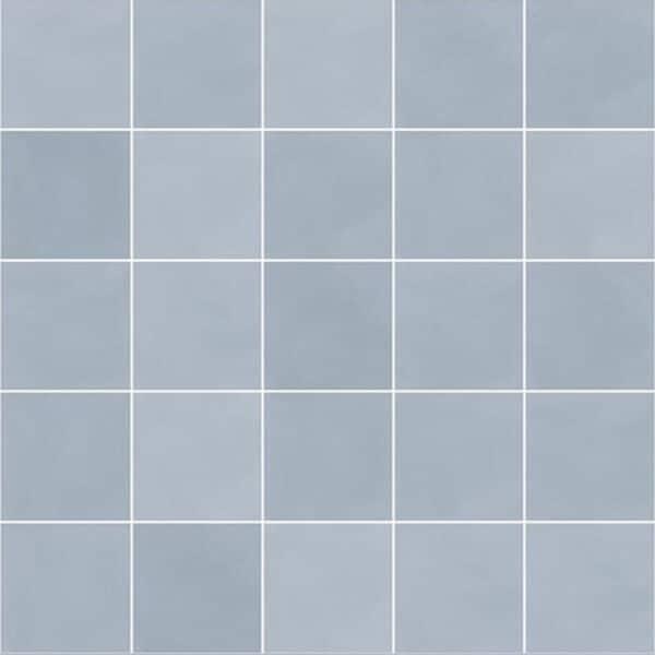 Effen Tegels 29,3x29,3 - Pop Tile Sixties Celeste Lichtblauw Patroon
