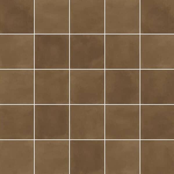 Effen Tegels 29,3x29,3 - Pop Tile Sixties Chocolate Donkerbruin Patroon