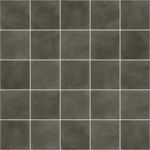 Effen Tegels 29,3x29,3 - Pop Tile Sixties Marengo Antraciet Patroon