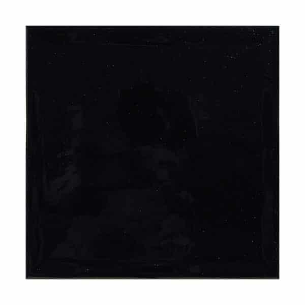 Handvorm Tegel 22,3x22,3 - Priss Square Zwart