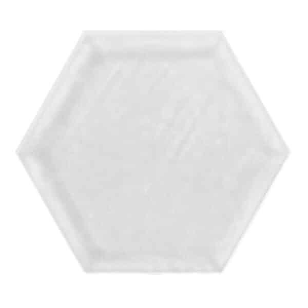 Hexagon Tegel 19,8x22,8 - Priss Matt Wit Mat