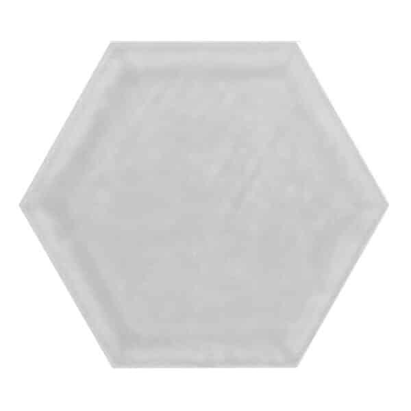 Hexagon Tegel 19,8x22,8 - Priss Matt Zilver Mat