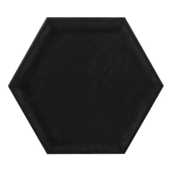 Hexagon Tegel 19,8x22,8 - Priss Matt Zwart Mat