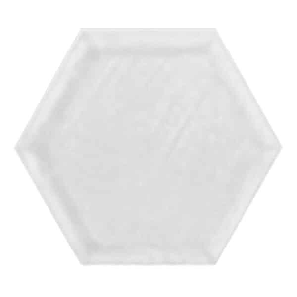 Hexagon Tegel 19,8x22,8 - Priss Shiny Wit Glans