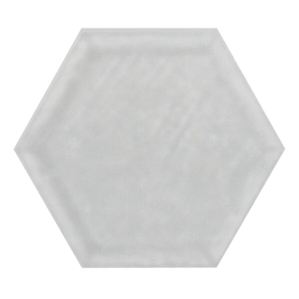 Hexagon Tegel 19,8x22,8 - Priss Shiny Zilver Glans