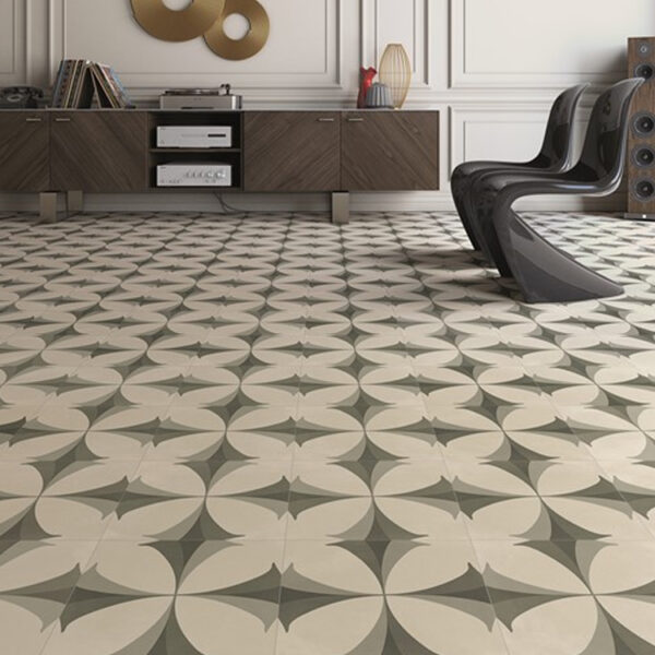 Portugese Tegels 29,3x29,3 - Pop Tile Flaps Zwart Wit Sfeer