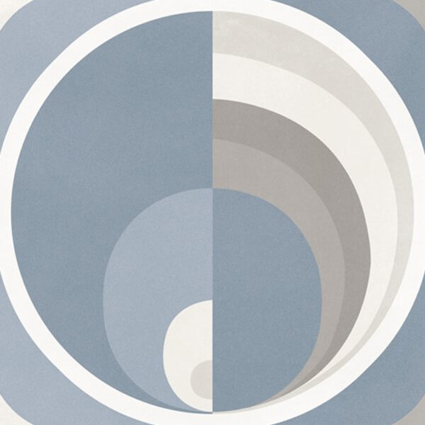 Portugese Tegels 29,3x29,3 - Pop Tile Harris Celeste Blauw Bruin