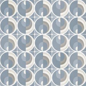 Portugese Tegels 29,3x29,3 - Pop Tile Harris Celeste Blauw Bruin Patroon