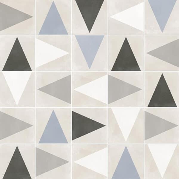 Portugese Tegels 29,3x29,3 - Pop Tile Leslie Multi Patroon