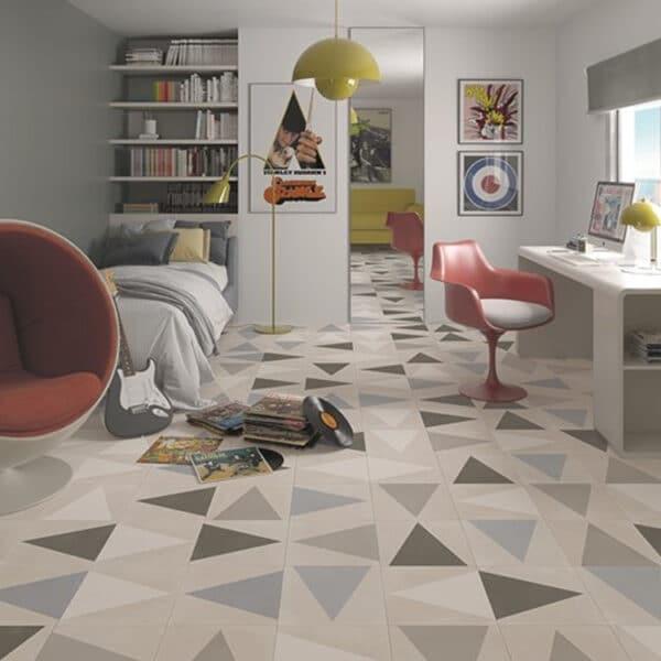 Portugese Tegels 29,3x29,3 - Pop Tile Leslie Multi Sfeer