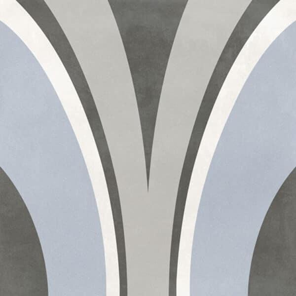 Portugese Tegels 29,3x29,3 - Pop Tile Nimbin Grijs Blauw