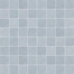 Effen Tegels 15x15 - Pop Tile Celeste Patroon