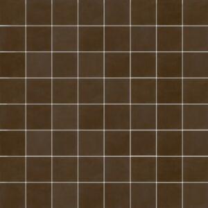 Effen Tegels 15x15 - Pop Tile Chocolate Patroon