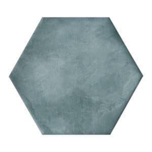 Hexagon Tegels 14x16 - Nuance Exa Handvorm Acqua Turquoise