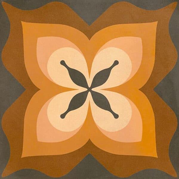 Portugese Tegels 15×15 – Pop Tile Bethel Bruin