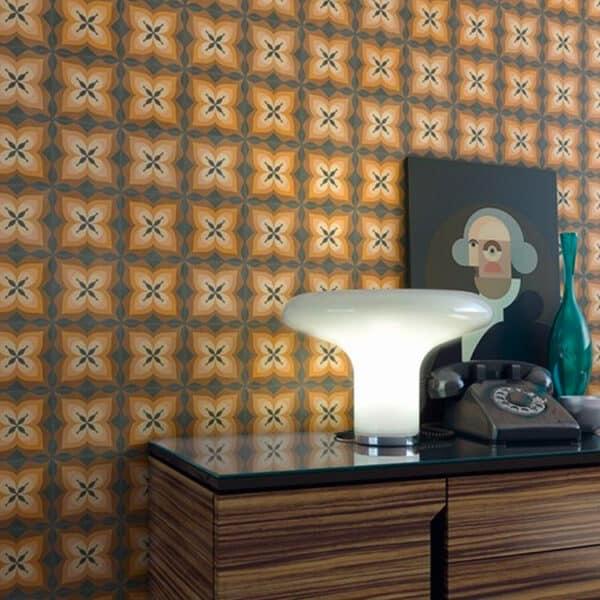 Portugese Tegels 15×15 – Pop Tile Bethel Bruin Sfeer
