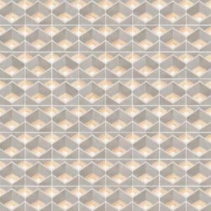 Portugese Tegels 15×15 – Pop Tile Bonnie Grijs Beige Patroon