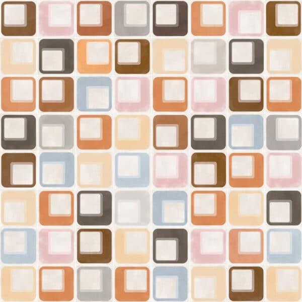 Portugese Tegels 15×15 – Pop Tile Ferus Mix Patroon