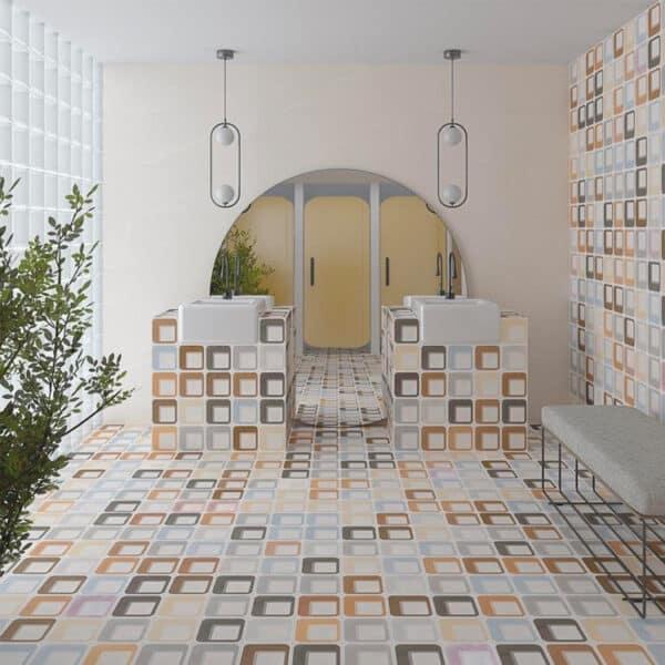 Portugese Tegels 15×15 – Pop Tile Ferus Mix Sfeer