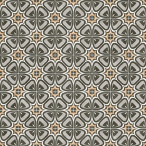 Portugese Tegels 15×15 – Pop Tile Marquee Grijs Beige Patroon