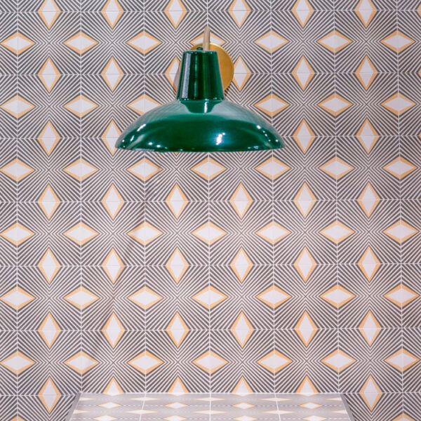 Portugese Tegels 15×15 – Pop Tile Saville Grijs Beige Sfeer