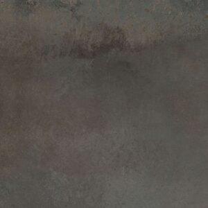 Metallook Tegel 60×60 Tijdloos Donkerbruin Industrial Grafito