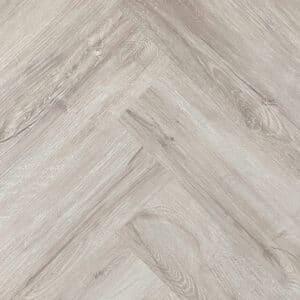 Plak PVC - Visgraat Victoria Grijsbruin