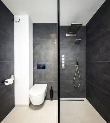 Betonlook en Leisteenlook Tegels Badkamer