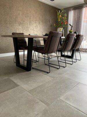 Keuken betonlook vloertegels