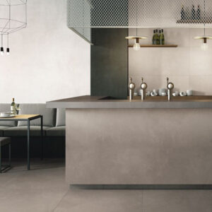 Betonlook Tegel Slabs 260x120 - AZ-G Concrete Grijs Sfeer