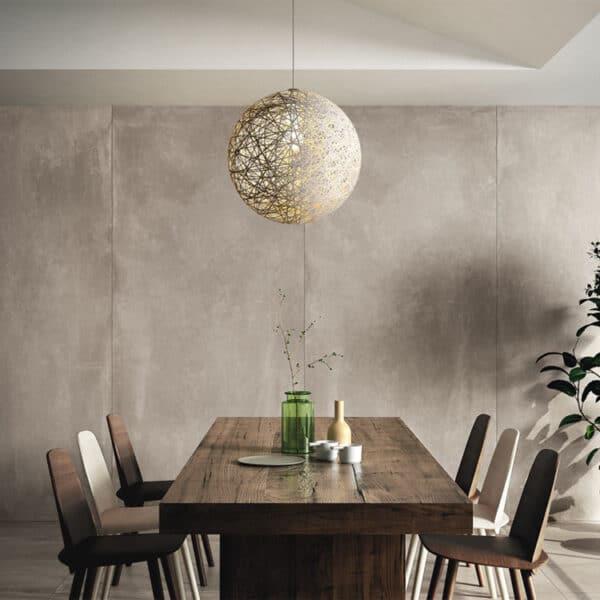 Betonlook Tegel Slabs 260x120 - AZ-RM Concrete Grijs Sfeer
