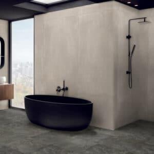 Betonlook Tegel Slabs 260x120 - Az Concrete Grijs Bruin Sfeer