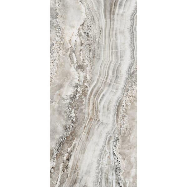 Marmerlook Tegel Slabs 260x120 - TR-BLA Marble Grijs Bruin Hoogglans