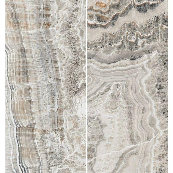 Marmerlook Tegel Slabs 260x120 - TR-BLA Marble Grijs Bruin Hoogglans Variatie