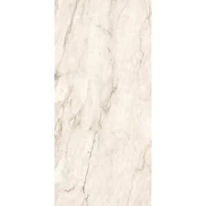 Marmerlook Tegel Slabs 260x120 - TR-CRE Marble Gebroken Wit Creme Hoogglans