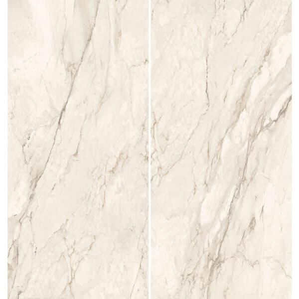 Marmerlook Tegel Slabs 260x120 - TR-CRE Marble Wit Variatie