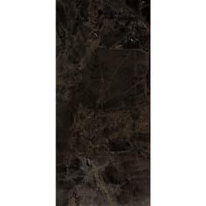Marmerlook Tegel Slabs 260x120 - TR-INF Marble Donkerbruin Hoogglans
