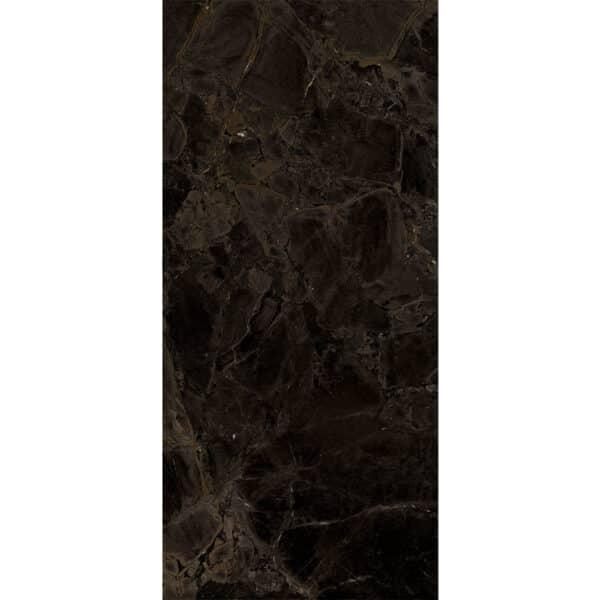 Marmerlook Tegel Slabs 260x120 - TR-INF Marble Donkerbruin Hoogglans Variatie