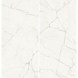 Marmerlook Tegel Slabs 260x120 - TR-STA Marble Wit Hoogglans Variatie